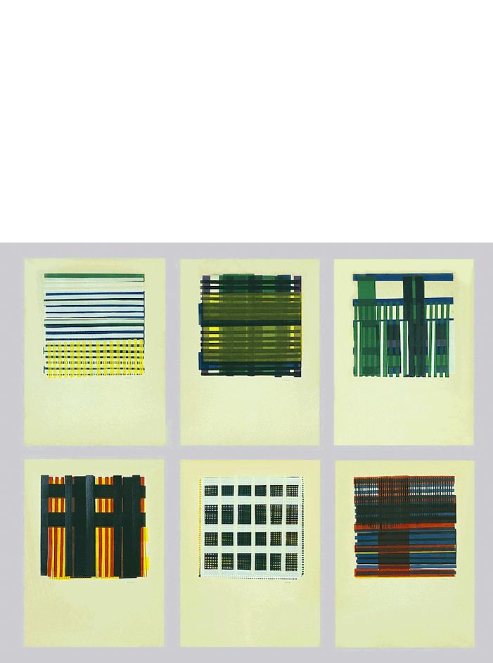 Los Alamos, 1958 serigrafia su carta, cm 32x42,5h