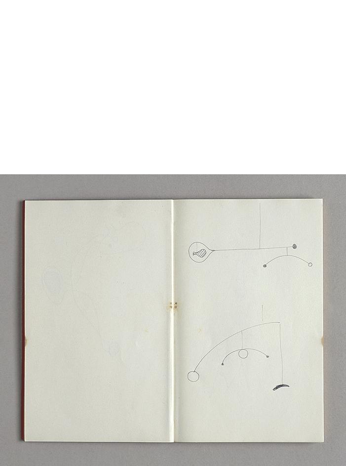 Taccuino, 1930/1940 trentanove disegni a matita su carta cm 11,5x18,3hx1