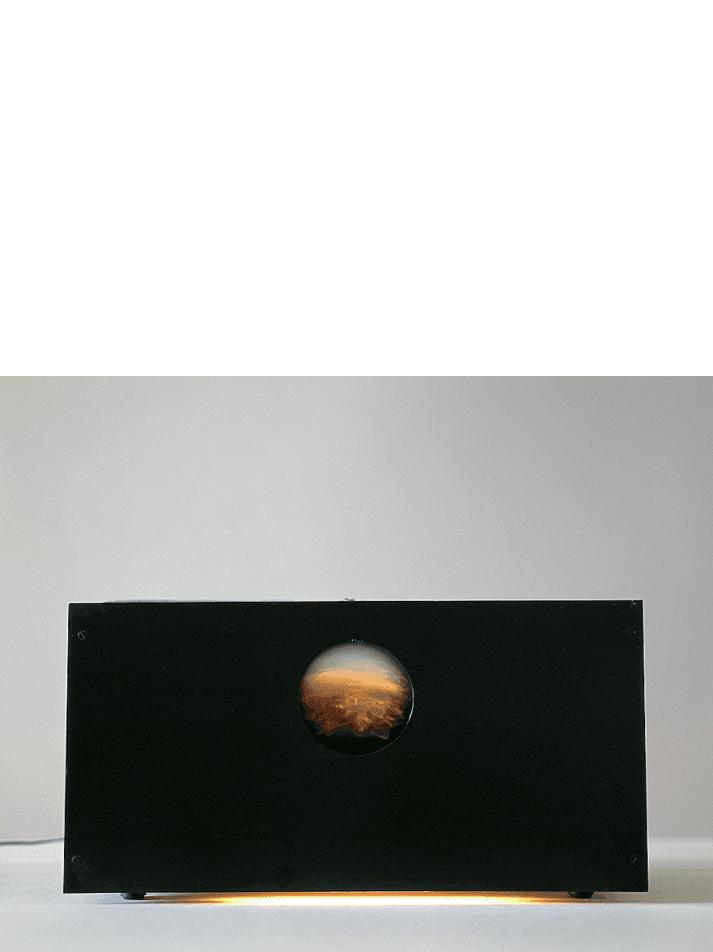 Strutturazione pulsante, 1959 polistirolo, gommapiuma, legno, animazione elettromeccanica cm 126x23x132h