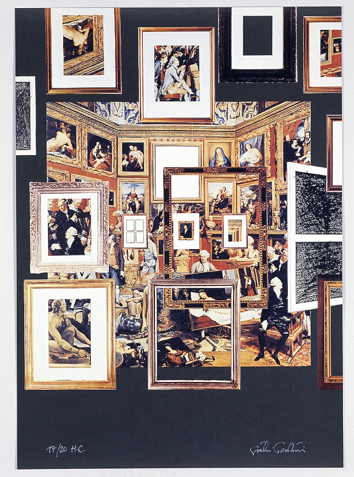 Contrappunto, 1994 litoserigrafia cm 50 x 70, es. n° 17/20 H.C.