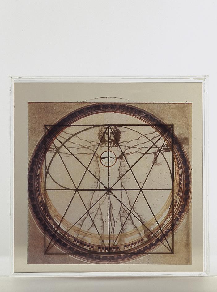 Leonardo e Venezia, 1992 serigrafia cm 28x28 esemplare n° 73/75